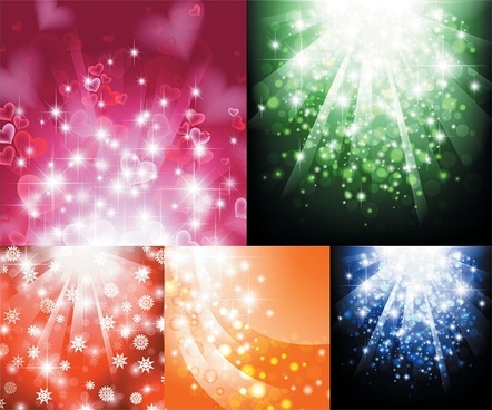 light vector background dream