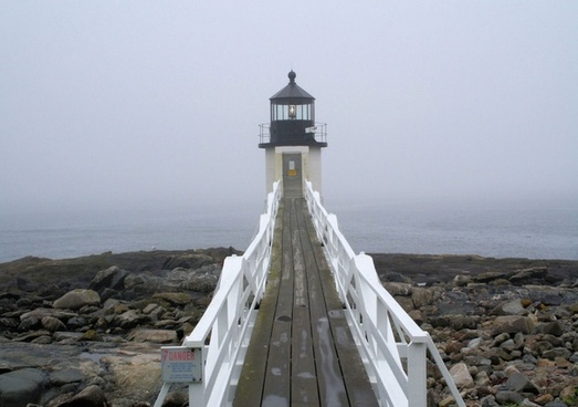 lighthouse front view
