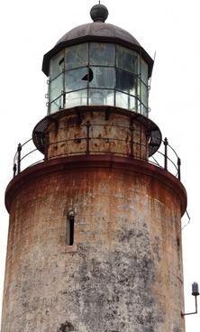 lighthouse isolated