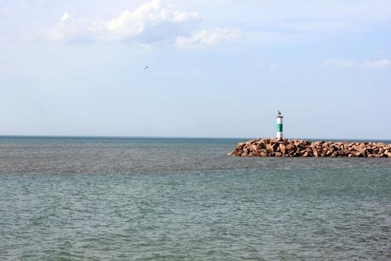 lighthouse like structure at indiana dunes national lakeshore indiana