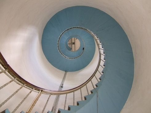 lighthouse stairs snail