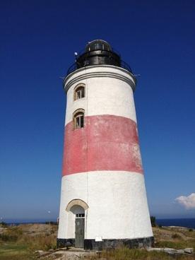 lighthouse swedish archipelago s�derarms lighthouse