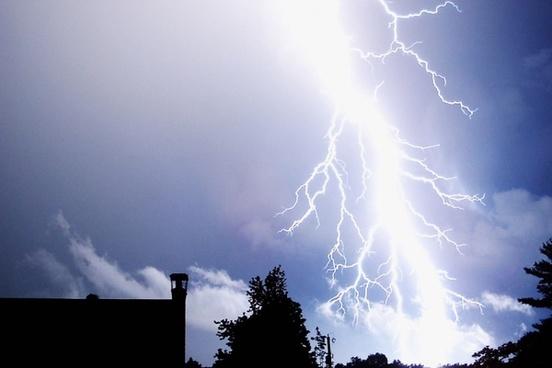 lightning thunder thunderstorm