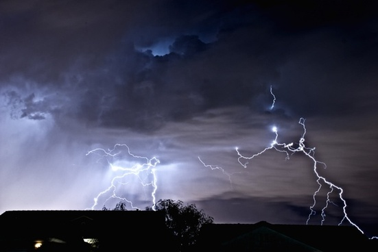 lightning weather storm