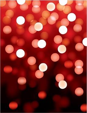 decorative background bokeh lights design