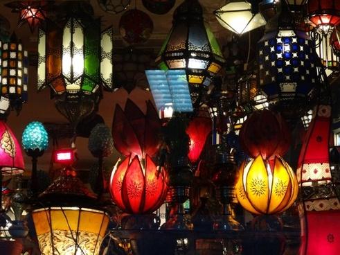 lights lamps light