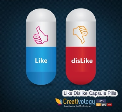 Like Dislike Capsule Pills