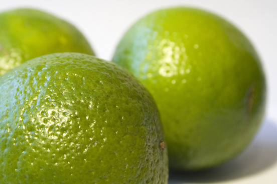 limes up close
