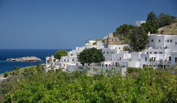 lindos greece town