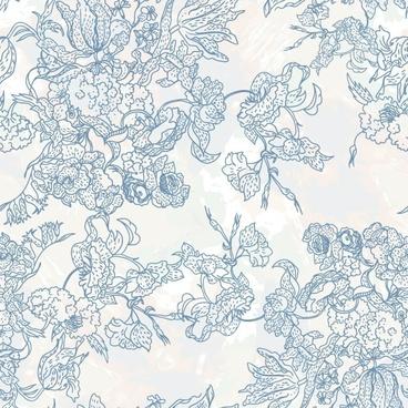line art pattern background 02 vector