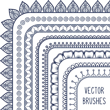 line corner border vector