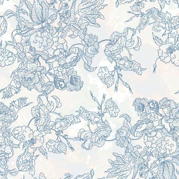 line of draft flower background vector