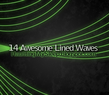 Lined Waves