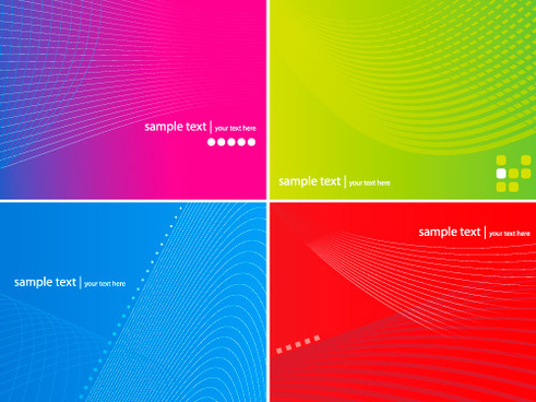 lines of the background vector graphic