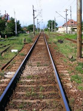 lines railway track