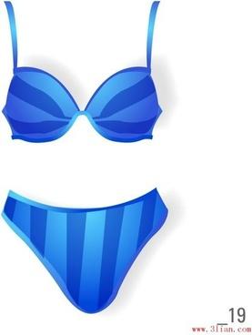 lingerie set vector