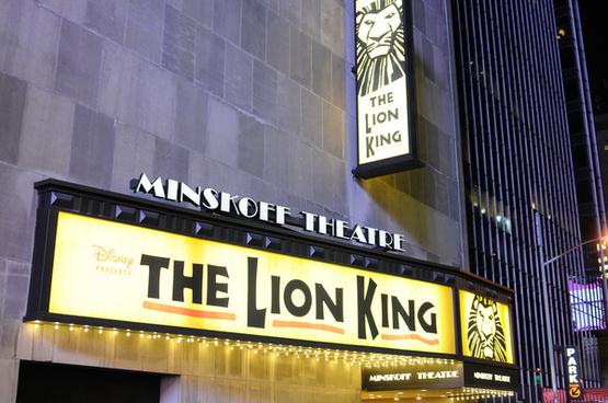 lion king minskoff theatre on broadway