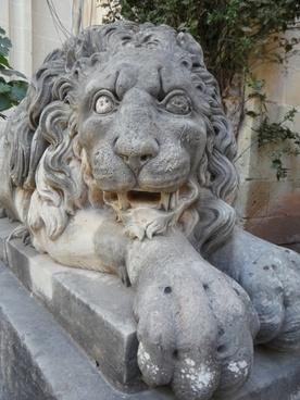 lion stone stone lion