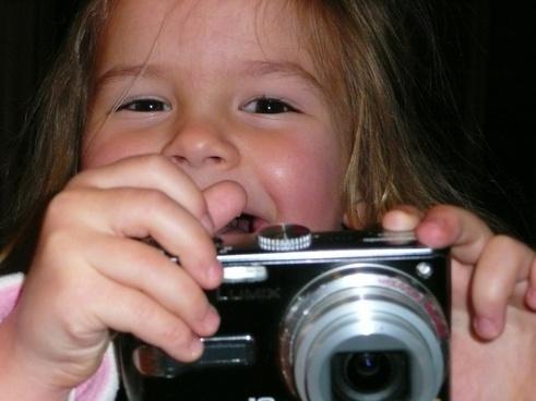 little girl camera