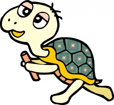 little turtle vector