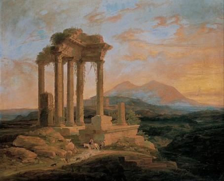 lluis rigalt ruins columns
