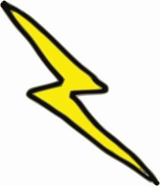 Lnxwalt Cheap Lightning Bolt clip art
