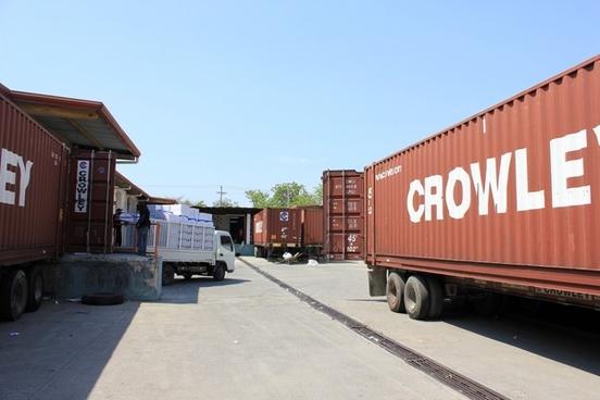 loading dock at port au prince haiti