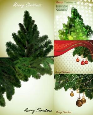 local christmas tree vector
