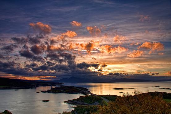 loch alsh sunset