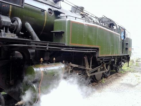 locomotive former steam