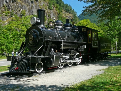 locomotive metal train