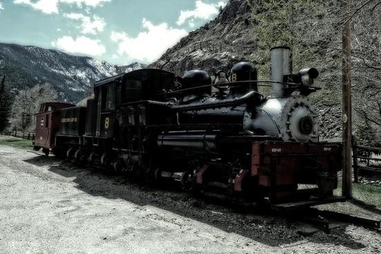 locomotive railway georgetown