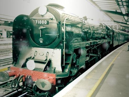 locomotive railway train