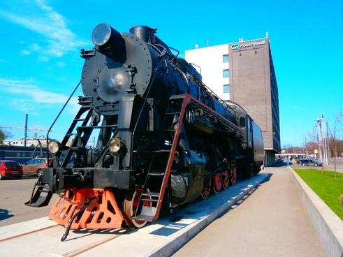 locomotive train rail