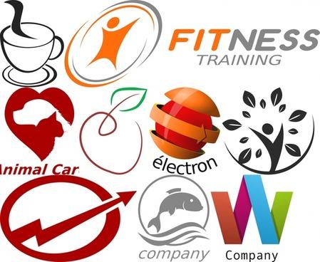 logo design element set