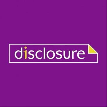 logo disclosure illustration vector