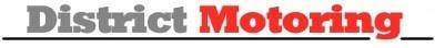 logo district motoring vector