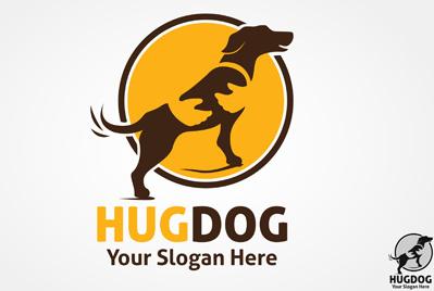 logo dog design vector