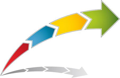 logo of arrows design vector