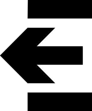 Logout Mini Icon clip art