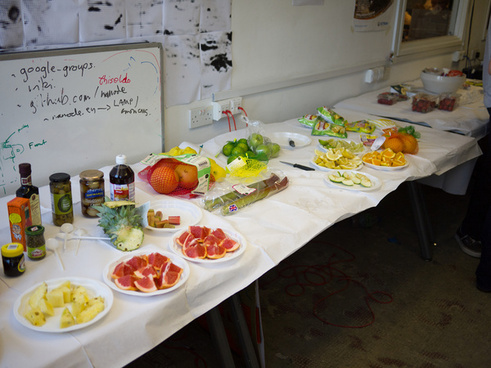 london hackspace miracle fruit party