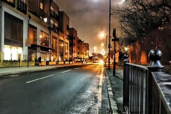 london night illuminated