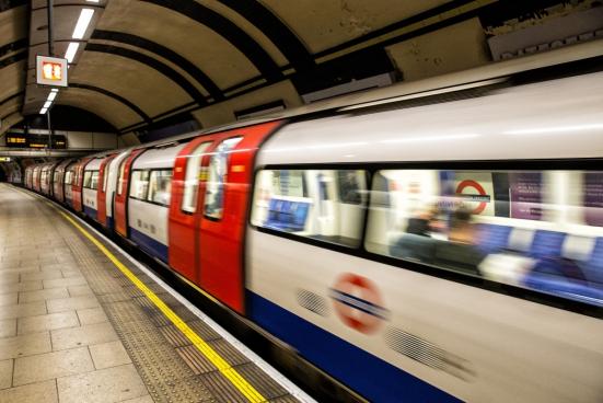 london tube arrival