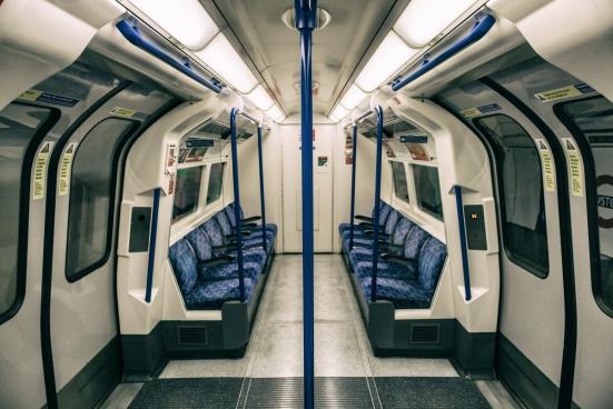 london tube interior