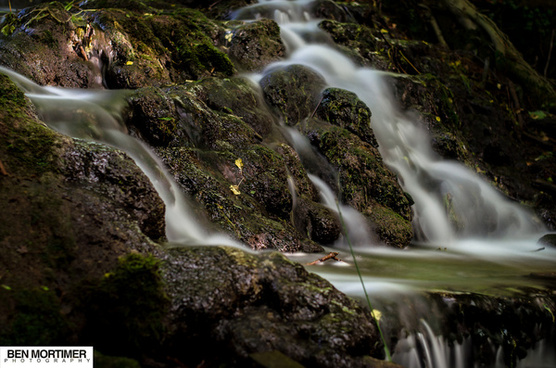 long exposure water