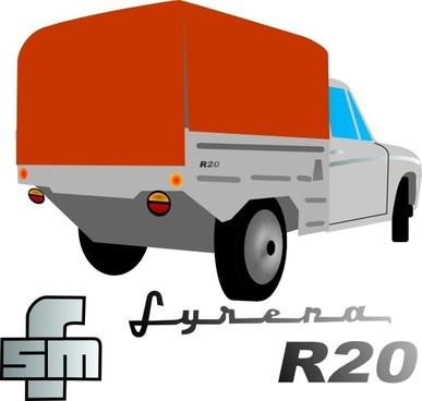 Lorry Truck clip art