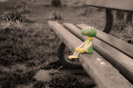 lost toy crocodile