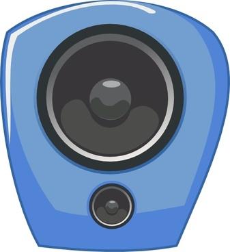 Loudspeaker In Comic Style clip art