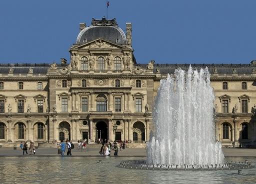 louvre palace paris france