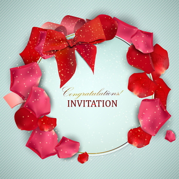 love and romantic invitation cards
